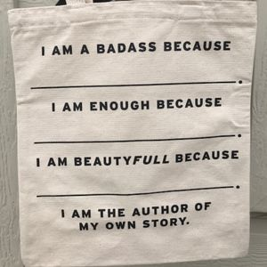 """Levi's """"I Am That Girl"""" Tote"""